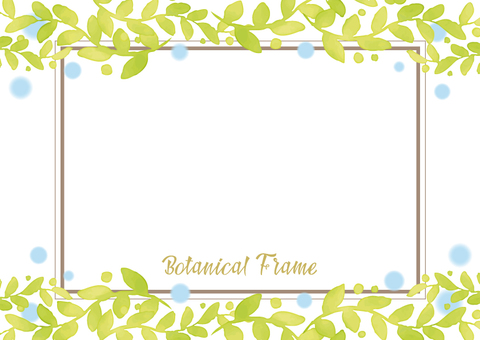Botanical frame 4