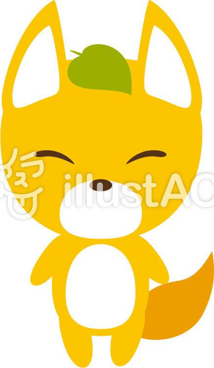化け狐のイラスト