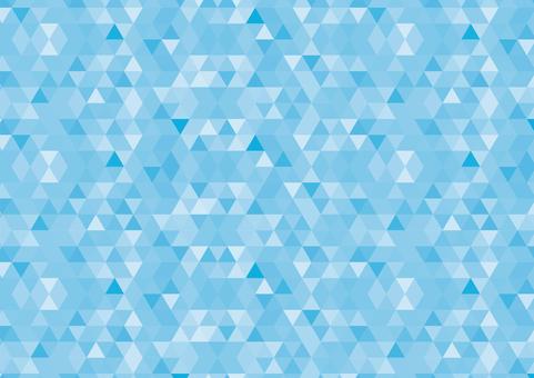 Geometric pattern light blue