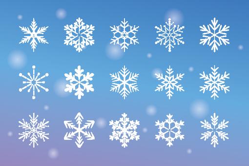 Snow crystal icon