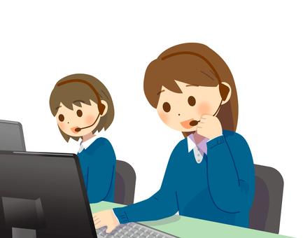 コールセンター オペレーター 電話対応2