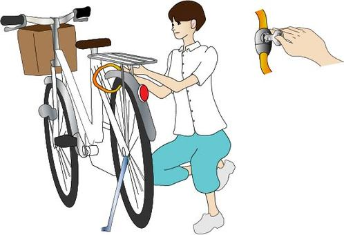 Bicycle theft prevention
