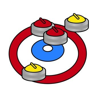 Curling House and Stone