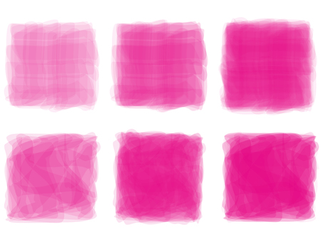 水彩深粉色背景幀幀壁紙手寫