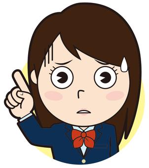 Fingering blazer girls school student (impatient)