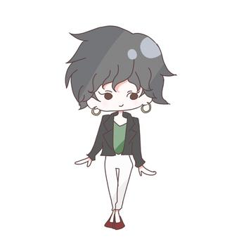 Mini character 3