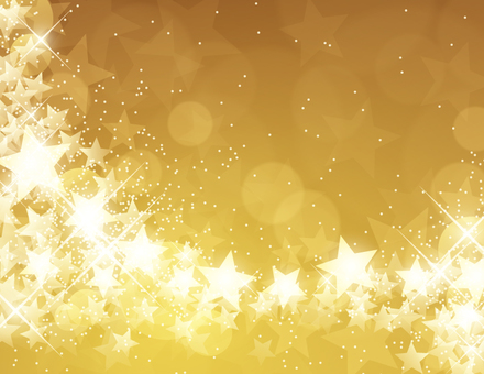 Golden star sparkly background
