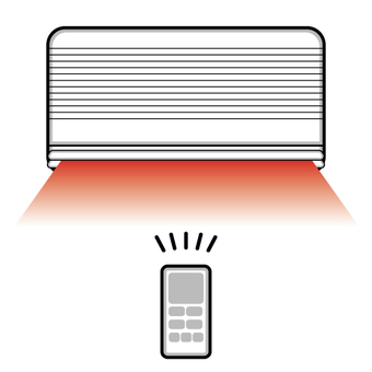Air conditioner image (heating)