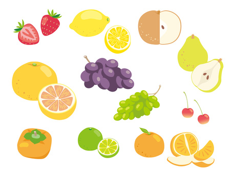 Various fruits _ 02