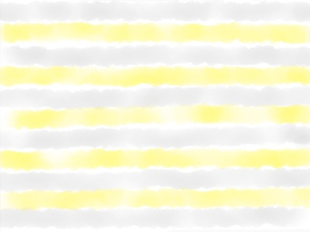 Watercolor border 【Yellow Gray】