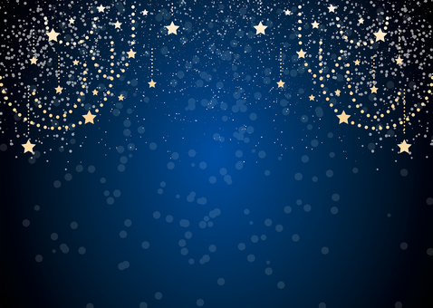 Glittering background frame