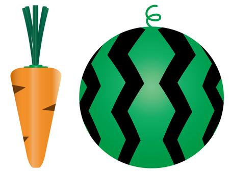당근과 수박