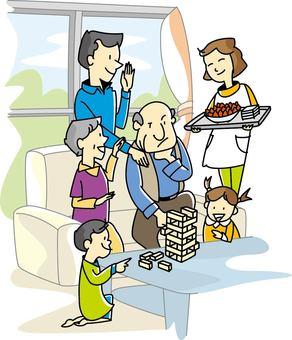 Family scene-01