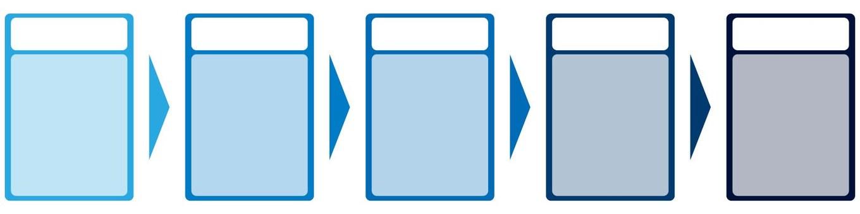 圖表(列表/藍色)
