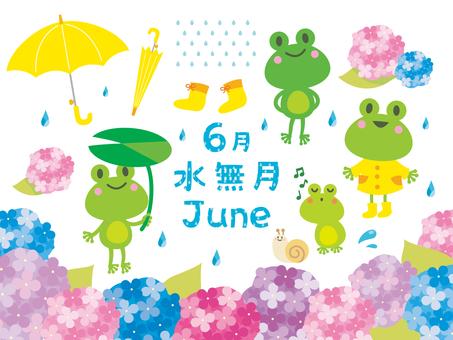 Illustration for June