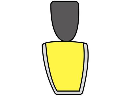Nail yellow