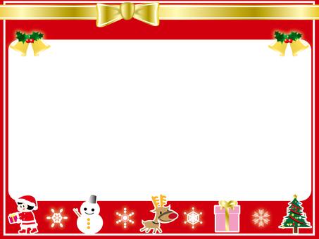 크리스마스 프레임 4