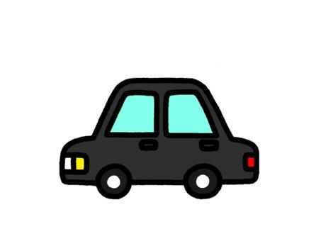 Passenger car black