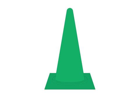 칼라 콘 03 녹색
