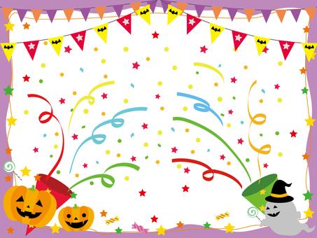 Halloween frame pumpkin _ new