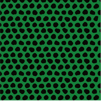 Bean pattern green