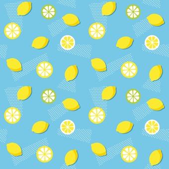 Background pattern Lemon