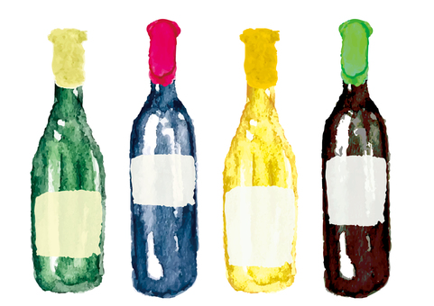 《水彩風》瓶