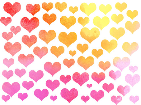 Heart colorful
