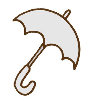 Umbrella - white