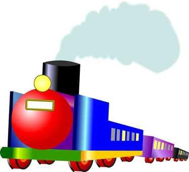 Train Colorful