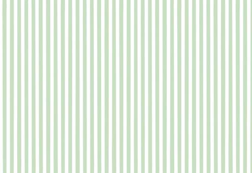 Striped, dull green