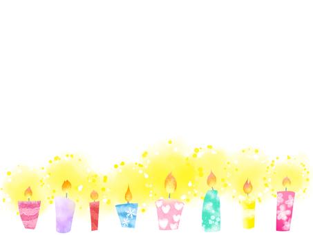 Cute candle