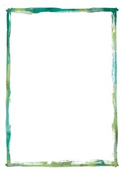 Brush frame ink 02-05