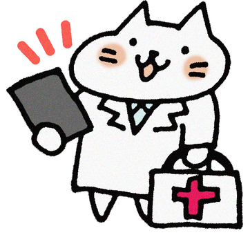 Teacher's cat (house visit)