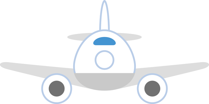 Simple airplane front