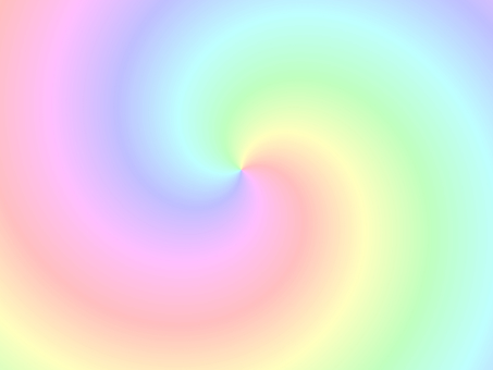 Rainbow color spinning