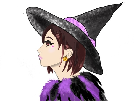Fashionable witch