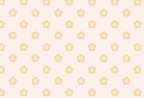 Flower pattern background (Iraire Swatch material)