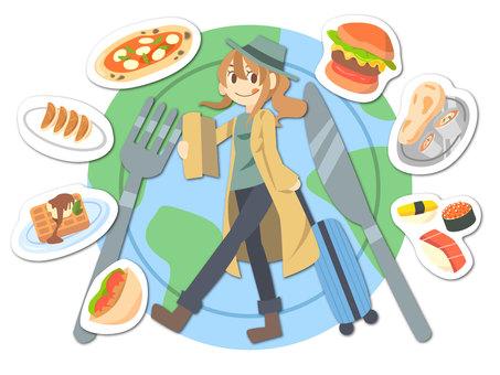 A gourmet trip around the world