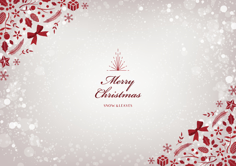 Winter background frame 022 Christmas