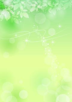 Frisches grünes Material 150