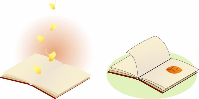 読書の秋のイメージ