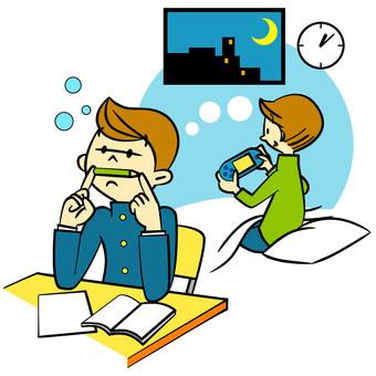 Lack of sleep students