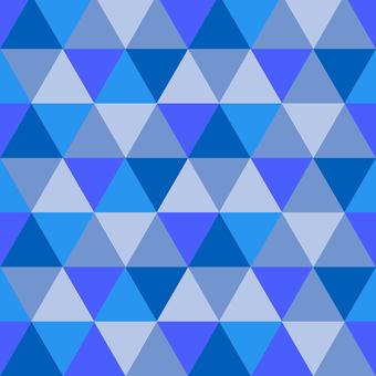 Pattern polygon blue