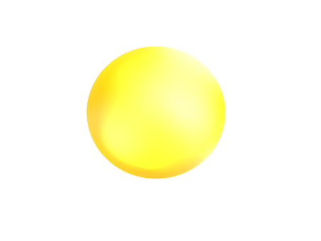 Sphere / yellow
