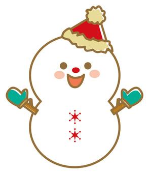 Christmas material 22 Snowman