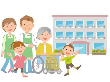 60206. Long-term care facility, family and caregiver 2