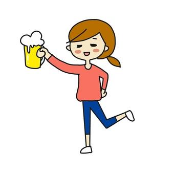 Beer women