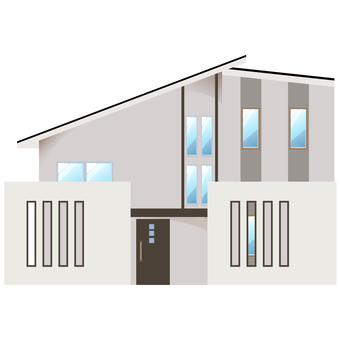 A detached house illustration 8