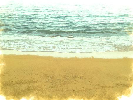 海辺イラスト